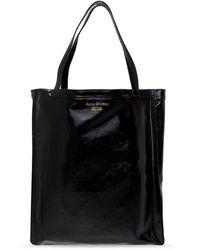 Fay Branded shopper bag - Noir