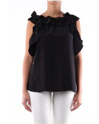 P.A.R.O.S.H. - Poterexd311232 Sleeveless Top - Lyst