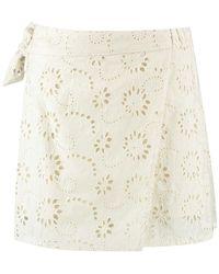 Harper & Yve Milou Short Skirt - Neutre