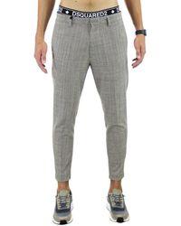 DSquared² Cotton trousers - Marrone