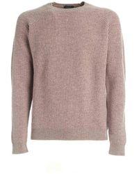 Zanone Sweaters - Roze