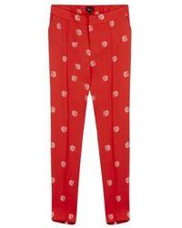 Alix The Label 191116079-302 Pyjama Pants - Rood