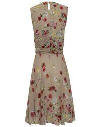 Anna Molinari Midi Dress Rosa