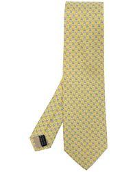 Ferragamo - Cravate à motifs - Lyst