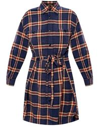 R13 - Checked dress - Lyst