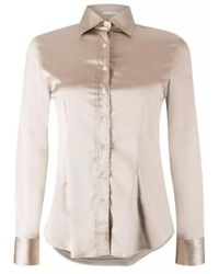 Robert Friedman Shiny blouse - Neutro