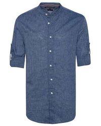 Tommy Hilfiger Shirt, Chambray - Blauw