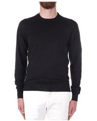 Drumohr D1ln103t Sweatshirt - Zwart