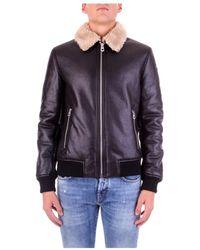 Fred Mello Fm20W25Ke Biker jacket - Nero