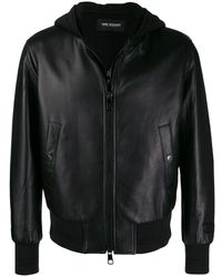 Neil Barrett Coat - Zwart