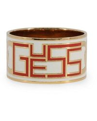 Guess Ring Ubb309 - Geel