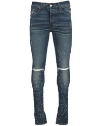 Amiri Jeans Mds030d - Blauw