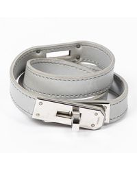 Hermès Kelly Dubbele Tour Armband - Grijs