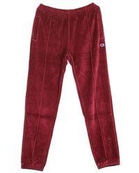 Champion Straight Hem Pants - Rood