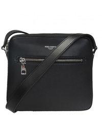 Dolce & Gabbana Logo Shoulder Bag - Zwart