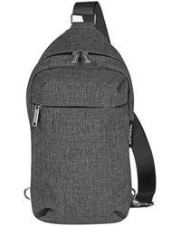 Marimekko Kortteli one-shoulder backpack - Gris