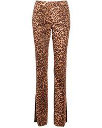 Blumarine Trousers - Marrone