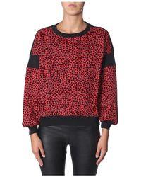 Philosophy Di Lorenzo Serafini Round neck sweatshirt - Rojo