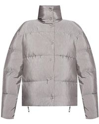 Acne Studios Printed Down Jacket - Grijs