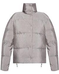 Acne Studios Printed down jacket - Grigio