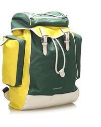 PT Torino - Nylon Backpack Verde - Lyst