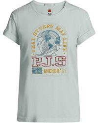 Parajumpers Unique T-shirt Pwflets51 - Groen