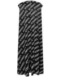 Fila - Dress Negro - Lyst