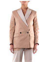 MSGM - 2841mdg12y207112 Blazer Women - Lyst