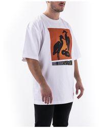 Heron Preston - Camiseta de manga corta Blanco - Lyst