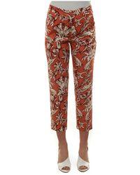 Seventy Drainpipe trousers - Orange