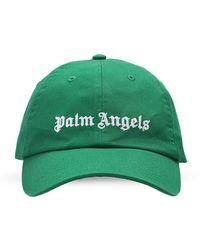 Palm Angels Baseball Cap With Logo - Groen