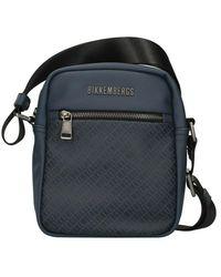 Bikkembergs E2bpme810012 Shoulder Bag - Blauw