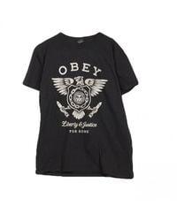 Obey - Maglietta Liberty Justice - Lyst