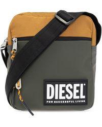 DIESEL Vertyo Shoulder Bag - Groen