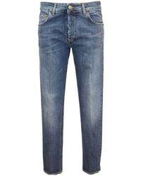 Entre Amis A218177 / 206l679-4039-blu-30 Five Pocket Jeans - Blauw