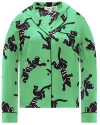 Diane von Furstenberg Silk shirt - Vert