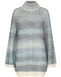 Just Female Helgi knit sweater - Azul