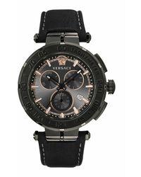 Versace Greca chrono watch - Noir