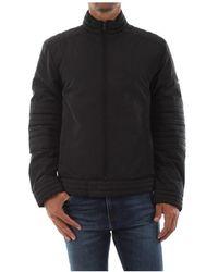 Calvin Klein K10K104435 Biker Jacket AND Jackets Men Black - Nero