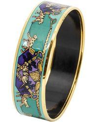 Hermès Bracelet en émail - Bleu