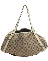 Gucci Pre-owned Abbey Hobo - Naturel