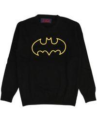 Mc2 Saint Barth Heron shape 00 sweatshirt - Negro