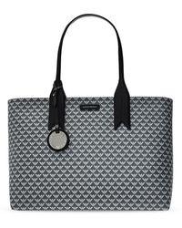 Emporio Armani Shopper Bag With Logo - Grijs