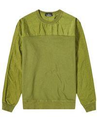 Stone Island Shadow Project sweatshirt - Vert