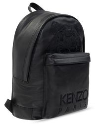 KENZO - Backpack With Logo - Lyst