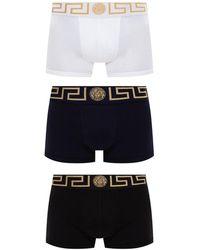 Versace Boxers 3-pack - Zwart