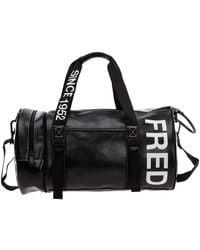 Fred Perry Travel Duffle Weekend Shoulder Bag - Zwart