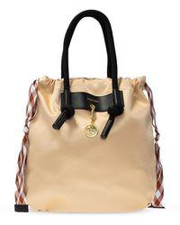 See By Chloé Drawstring Shoulder Bag - Naturel