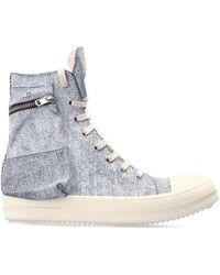 Rick Owens Cargo Sneakers - Grijs