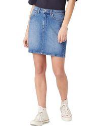 Wrangler Skirt Sandy - Blu